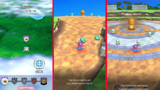 Review dan Berapa Total Size Pokemon Rumble Rush Untuk Android!