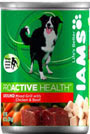 Picture of Iams ProActive Health Adult Ground Mixed Grill with Chicken and Beef Canned Dog Food