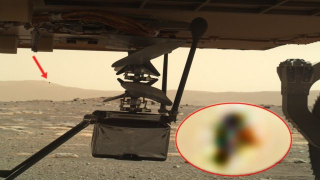 Something is observing the Ingenuity Mars helicopter  Mars%2Brover%2BIngenuity%2BMars%2Bhelicopter
