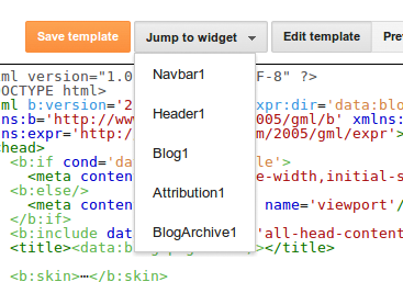 Blogger Developers: Improvements to the Blogger template HTML editor