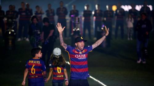Dani Alves Berikan Pamit ke Barca