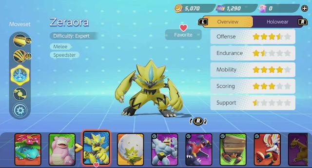 Pokémon Zeraora