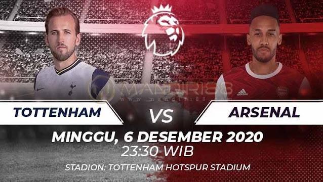 Prediksi Tottenham Hotspur Vs Arsenal, Minggu 06 Desember 2020 Pukul 23.30 WIB @ Mola TV