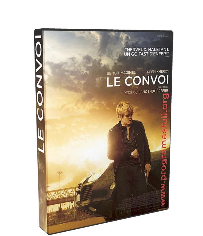asalto al convoy poster box cover