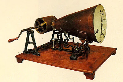 phonoautograph, full form of DJ