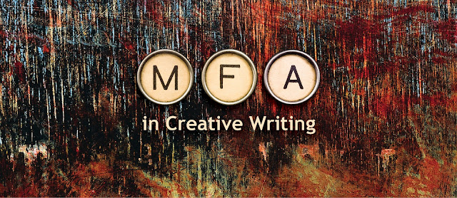 MFA in Creative Writing Sign