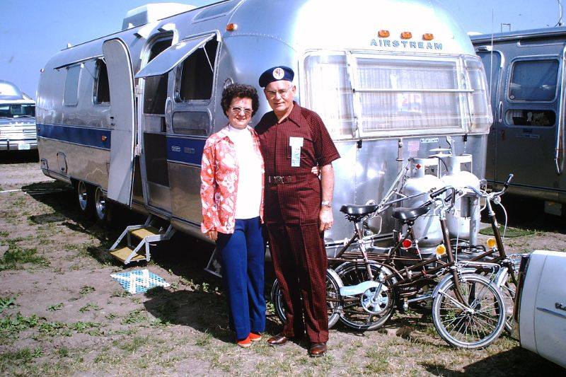 Cool Snaps Capture People With Airstream Trailers in the 1960s and Early '70s
