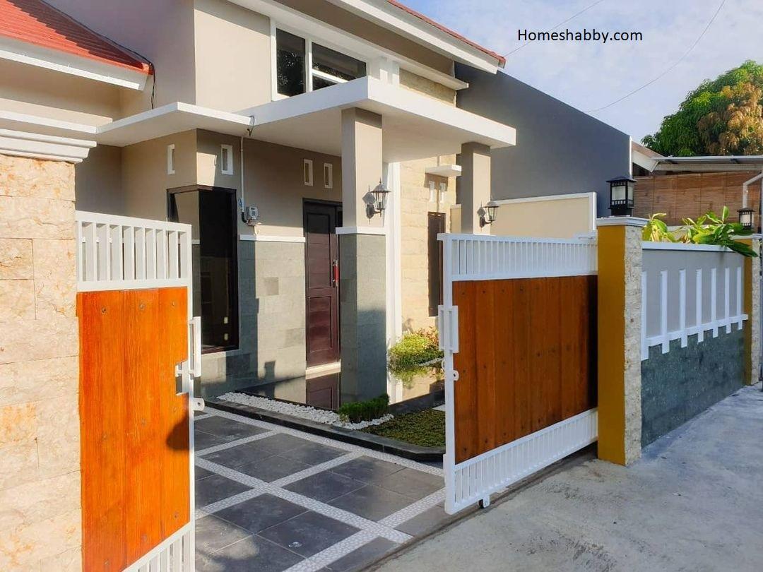 Kombinasi Warna Cat Pagar Rumah Yang Cocok Untuk Tahun Ini Homeshabby Com Design Home Plans Home Decorating And Interior Design