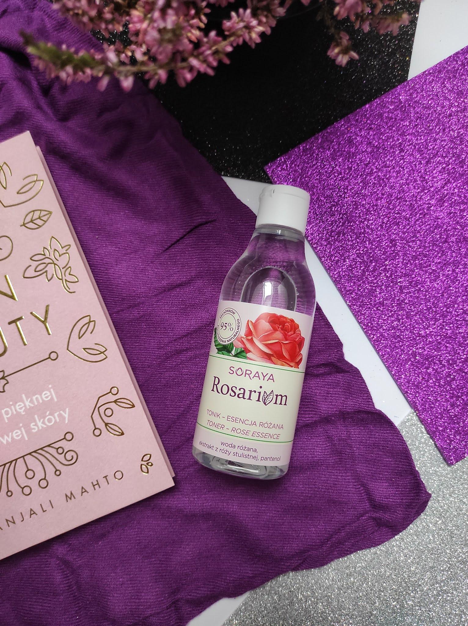 Różany tonik - esencja - Soraya Rosarium