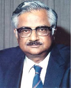 Raja Ramanna was an Indian physicist who is best known for his role in India's nuclear program during its early stages. He was born on Jan. 28, 1925 at Tiptur. Did his Ph.D. at London University. In 1949 joined Tata Institute of Fundamental Research and later on headed the Nuclear Physics division of Bhabha Research Centre. He was mainly responsible for designing and installing the country's first series of nuclear reactors, Purnima, Ciras and Apsara, as well as testing of first nuclear device at Pokharan on 18th May, 1974.