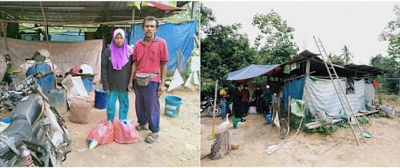 Padahal Tinggalnya Hanya di Tenda, Ayah ini Bisa Kuliahkan Tiga Anaknya