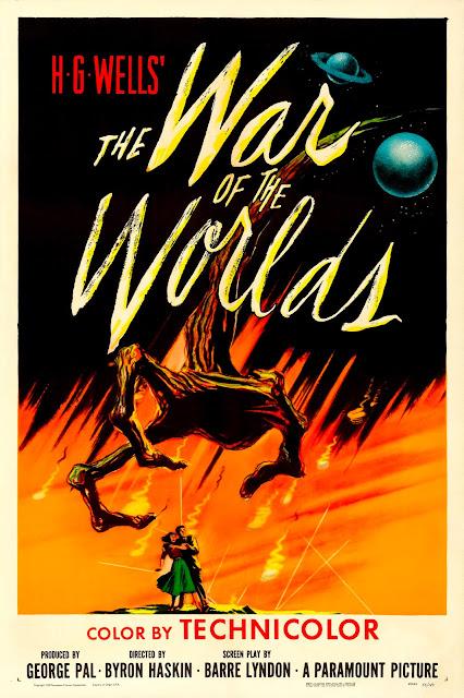 Póster película La guerra de los mundos - 1953