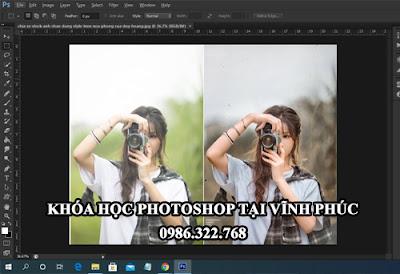 Học photoshop tại Vĩnh Phúc