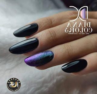 Cute Black Nails
