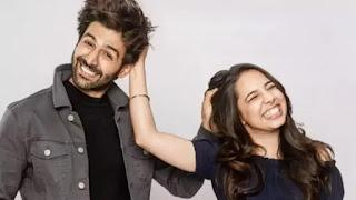 kartik aaryan with his sister kritika tiwari