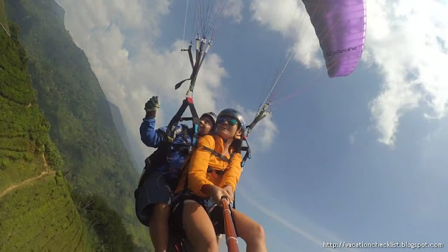 Paragliding in Jakarta
