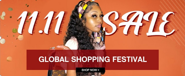 Yolissa Hair 11.11 Global Shopping Carnival With $30 Coupon & Flash Sale
