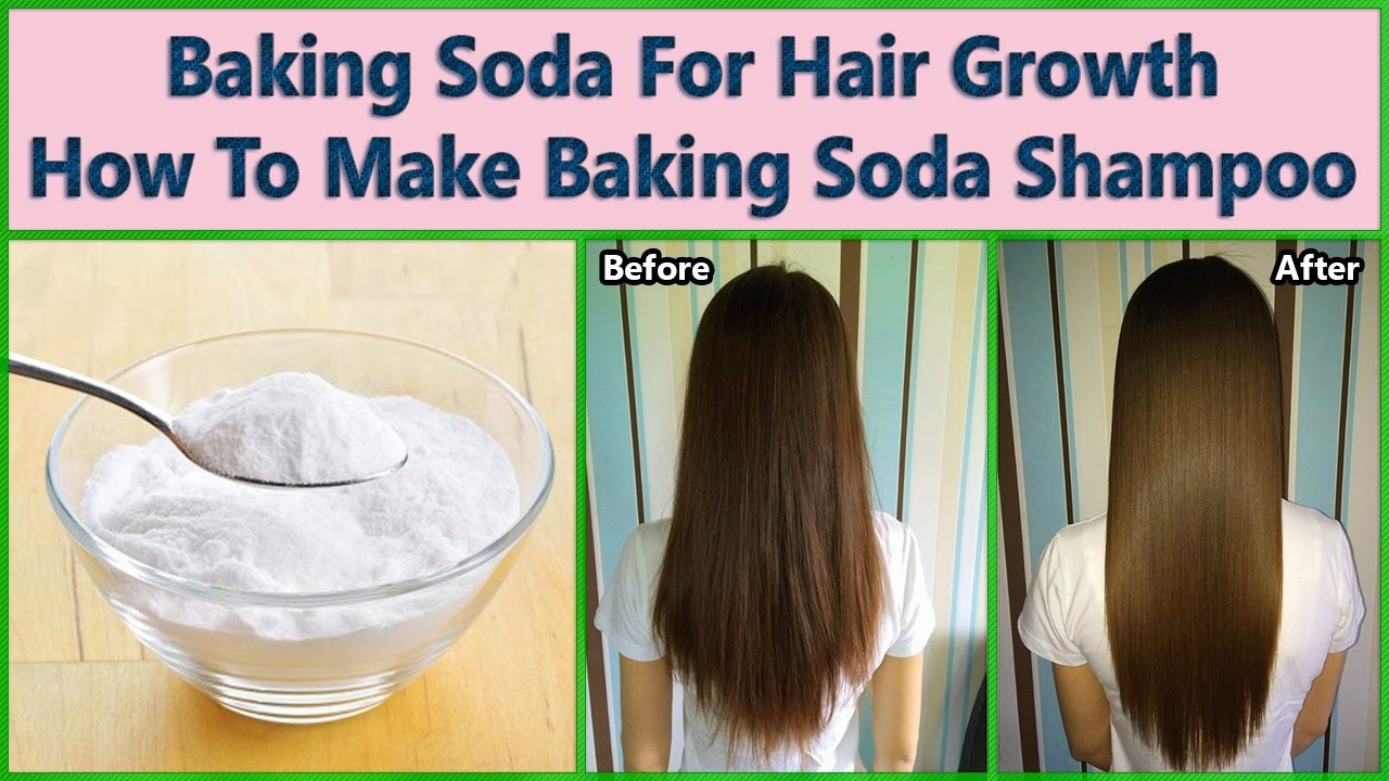 Baking Soda Shampoo: A Natural Recipe For Growing Your Hair