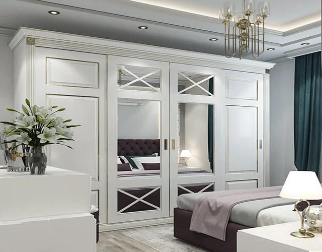 غرف نوم بالون الابيض
