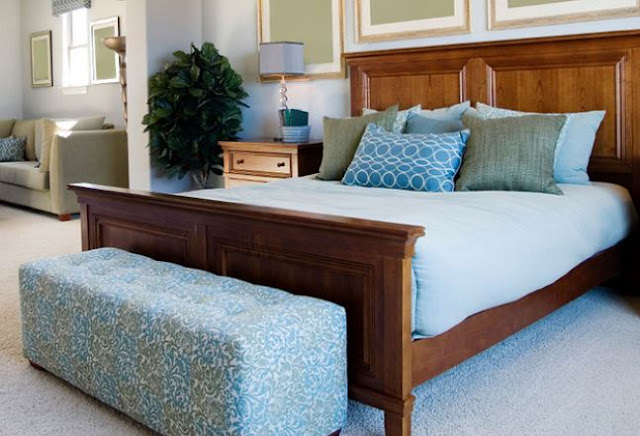how to style your bedroom on a budget