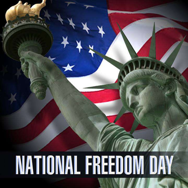 National Freedom Day Wishes Unique Image