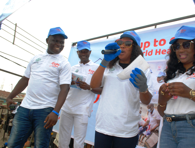 2018 World Health Day: Hypo promotes proper sanitation and hygiene with