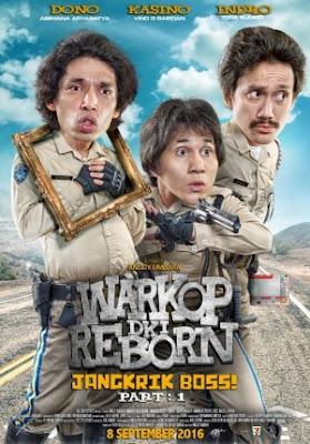 Waktu 4 hari Warkop DKI Reborn Jangkrik Boss mencapai 3jt penonton
