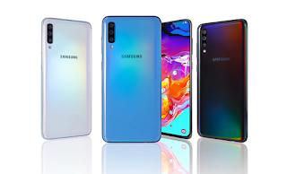 سامسونج جالاكسي Samsung Galaxy A70s - الإصدارات: SM-A707F, SM-A707FN, SM-A707GM, SM-A707MN, SM-A7070, SM-A707W