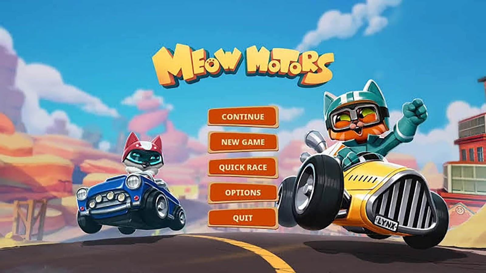 مراجعة أحدث ألعاب الـ Kart Racing حتى الآن لعبة  Meow Motors