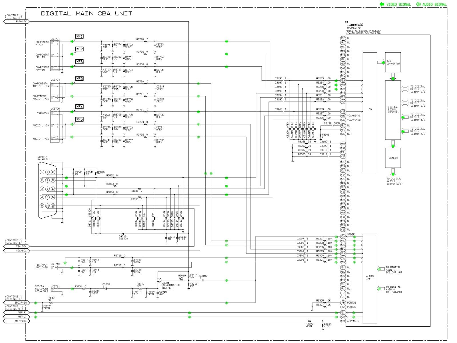 Philips 55PFL5706F7 – Circuit diagram (Full) | Schematic Diagrams