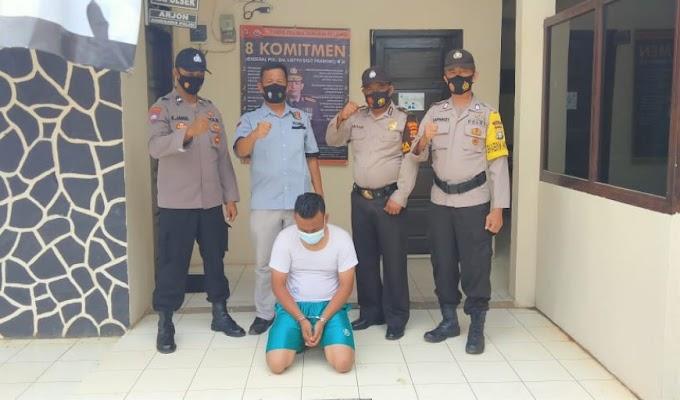 Tim Opsnal Polsek Sungkai Selatan Berhasil Bekuk DPO Curas di Tangerang Banten