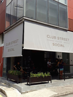 Sunday Brunch at Club Street Social, Singapore