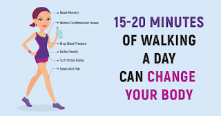 Walking 15 Minutes A Day