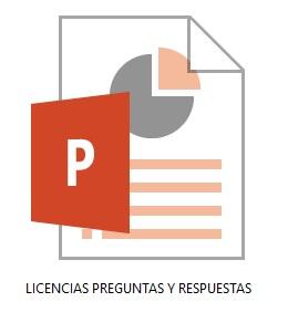 LICENCIA DE SOFTWARE PREGUNTAS Y RESPUESTAS