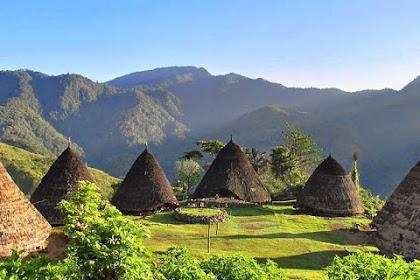 Desa Wae Rebo di Nusa Tenggara Timur (NTT) Desa Untuk Para Pasangan!