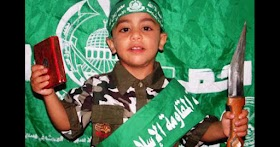 Palestinian children are introduced  to jihad with the help of your tax money (foreign aid)