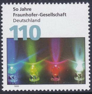 Germany 1999 Fraunhofer Society -50th Anniversary Issue