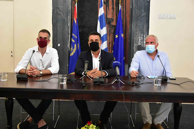 Ναύπλιο - Αθήνα - Αίγινα: «Τρεις πόλεις για την Ελλάδα» (βίντεο)