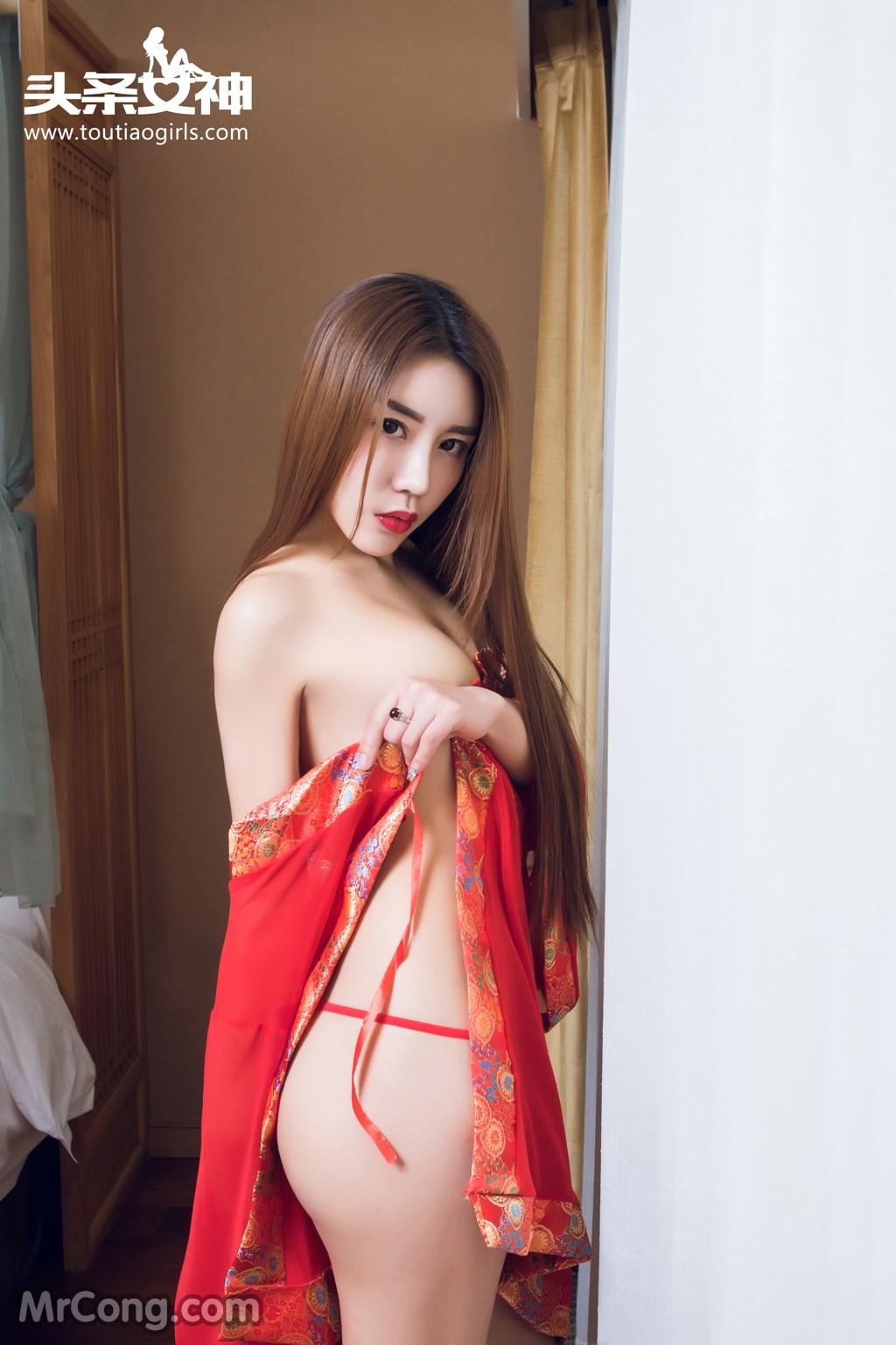 Image MrCong.com-TouTiao-2016-12-16-An-Su-Rui-003 in post TouTiao 2016-12-16: Người mẫu An Su Rui (安苏芮) (27 ảnh)