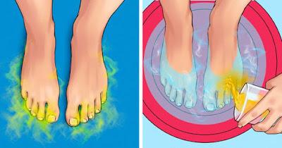 علاجات منزلية للروائح الجسم الكريهة ورائحة القدمين والابط والفم
