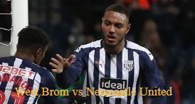 West Brom vs Newcastle United
