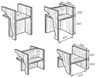 Схема стеллажа - перегородки