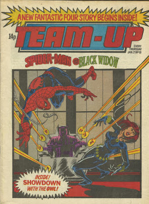 Marvel Team-Up #19, Spider-Man and Black Widow