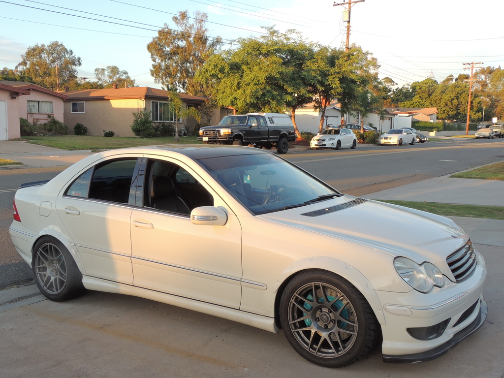 2006 Mercedes Benz W203 C230k Widebody Benztuning
