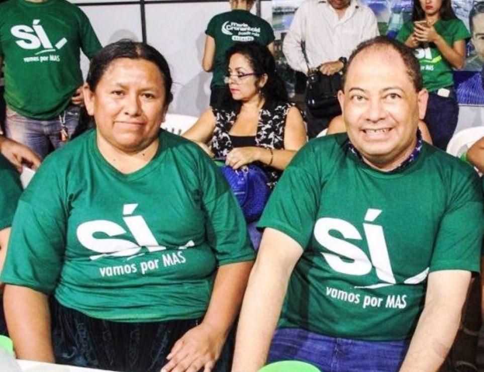 Achacollo y Romero en los tiempos de campaña y proselitismo para su jefe Evo Morales / ARCHIVOS