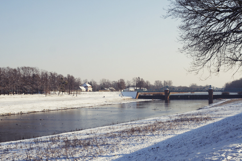 Widok na Most Bartoszowicki