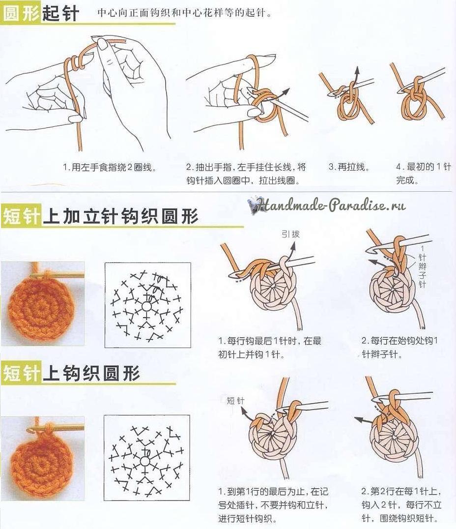 Как вязать крючком по китайским схемам (4)