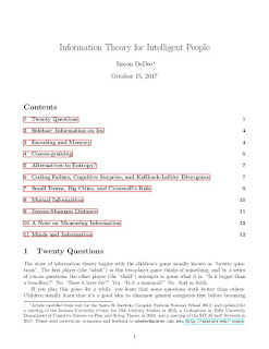 Information Theory for Intelligent People Ebook Pdf