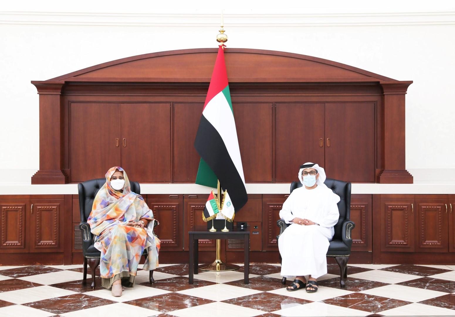 UAE-Sudan discuss bilateral relations
