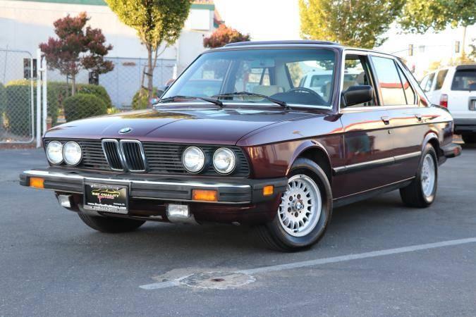 Daily Turismo: E28528E Is Almost A Palindrome: 1985 BMW 528e